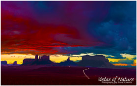 Image of Monument Valley at Sunset